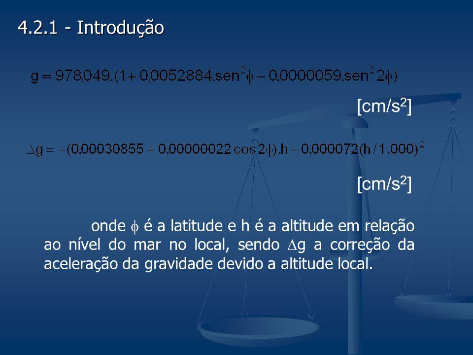 4.2.1 - Introdução [cm/s2] [cm/s2]